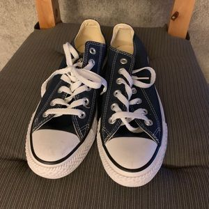 Navy Blue Converse Chuck Taylor All Star Low Top